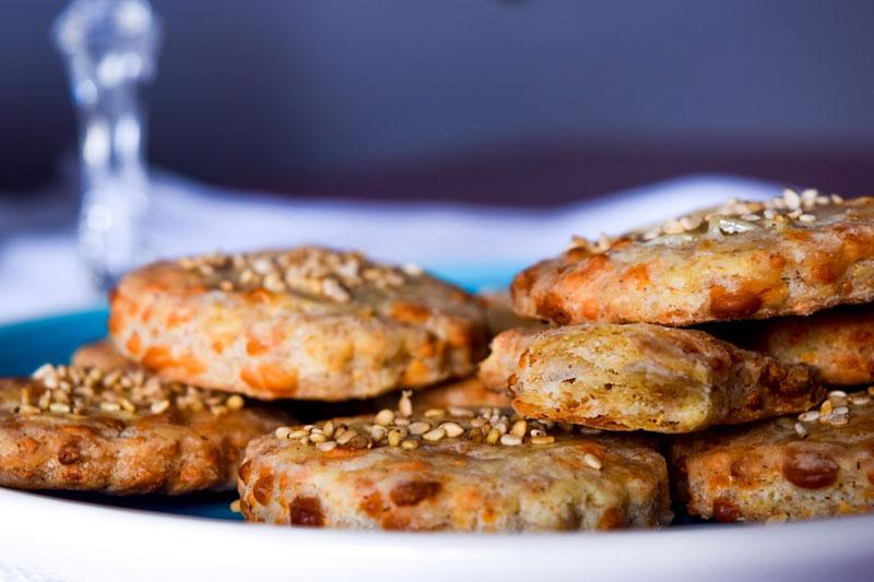 Biscotti salati con Pecorino Sardo DOP
