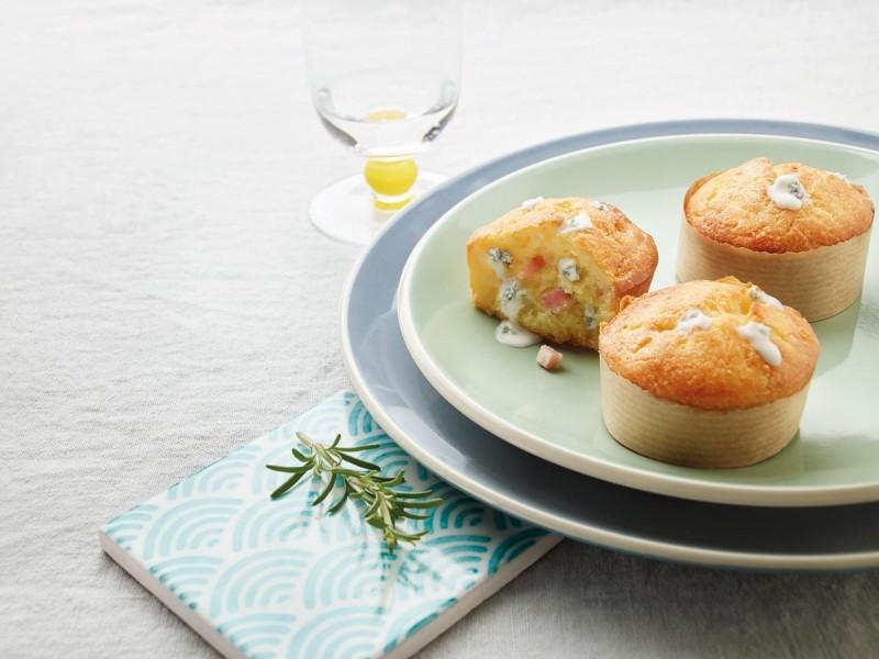 Muffin pancetta e Gorgonzola DOP